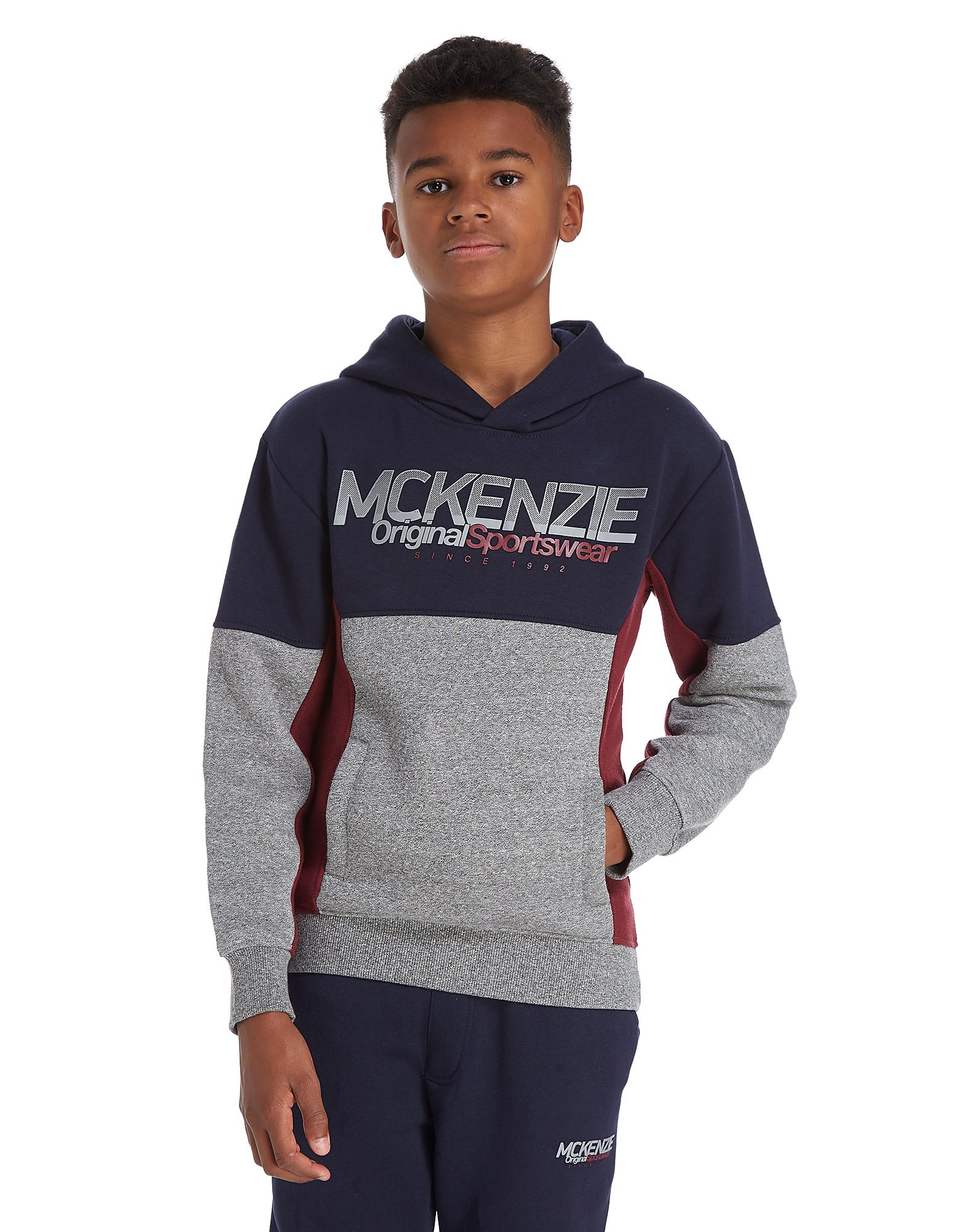 McKenzie Tycen Colour Block Hoodie Junior