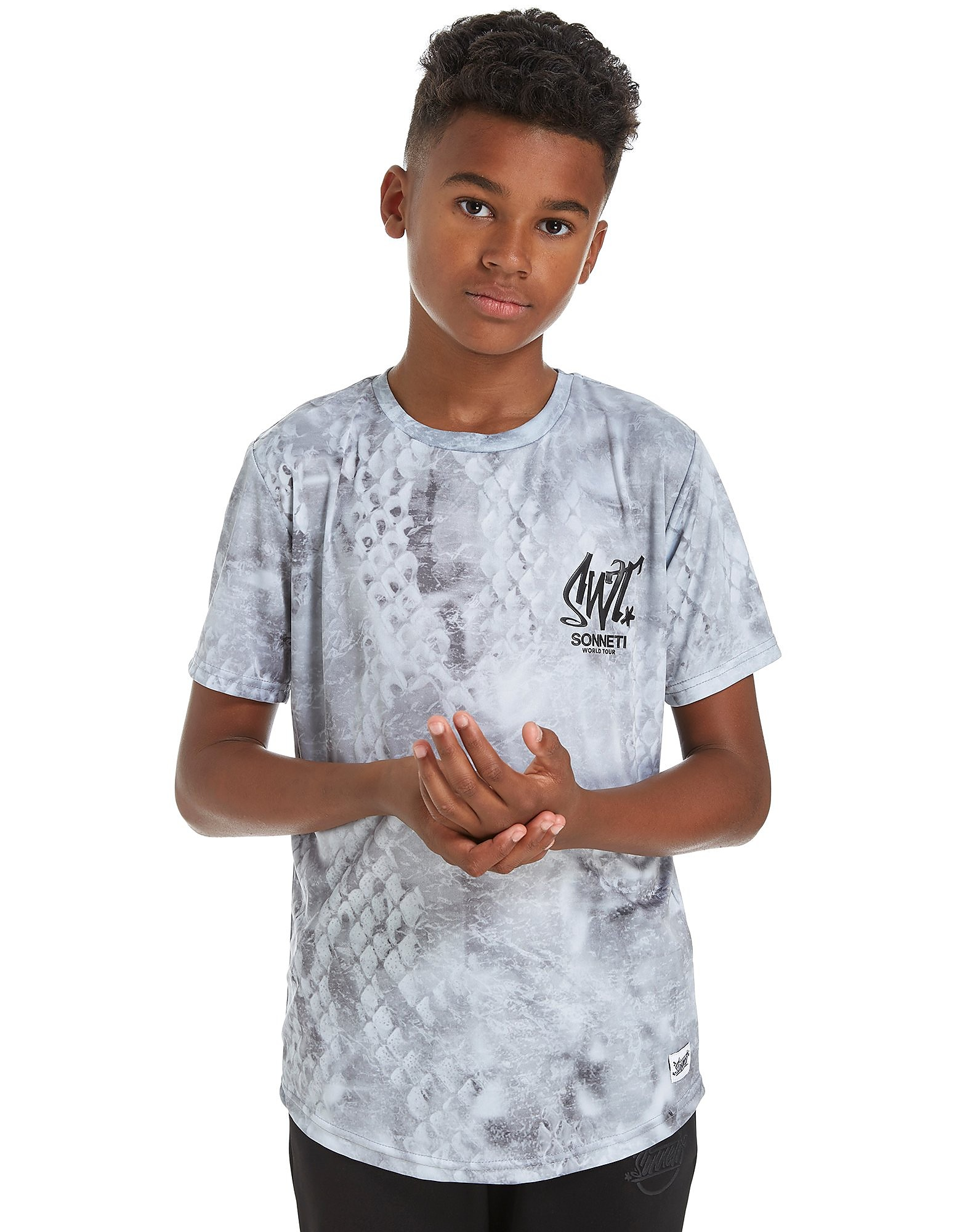 Sonneti Snake Skin T-Shirt Junior