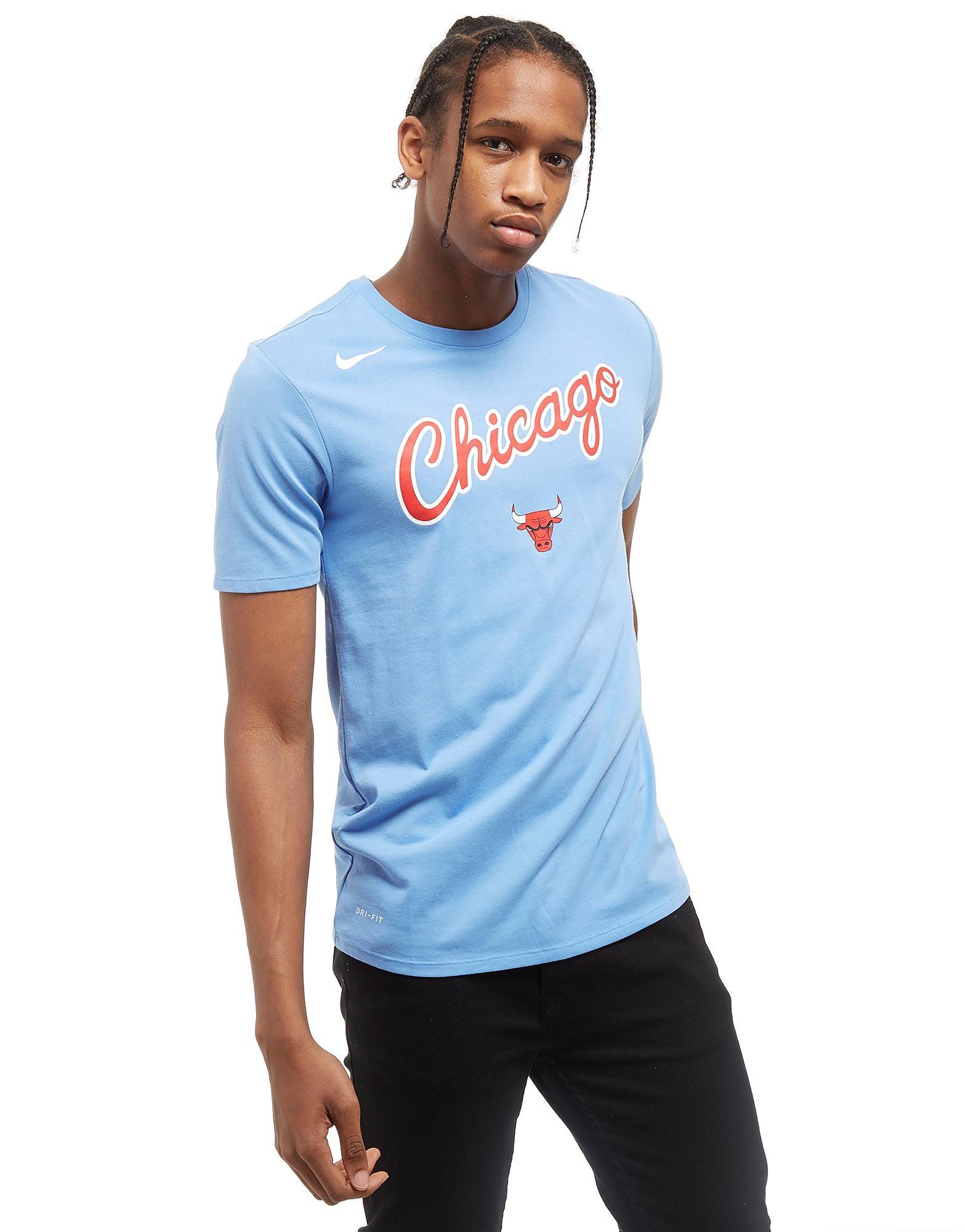 Nike NBA Chicago Bulls City T-Shirt Heren