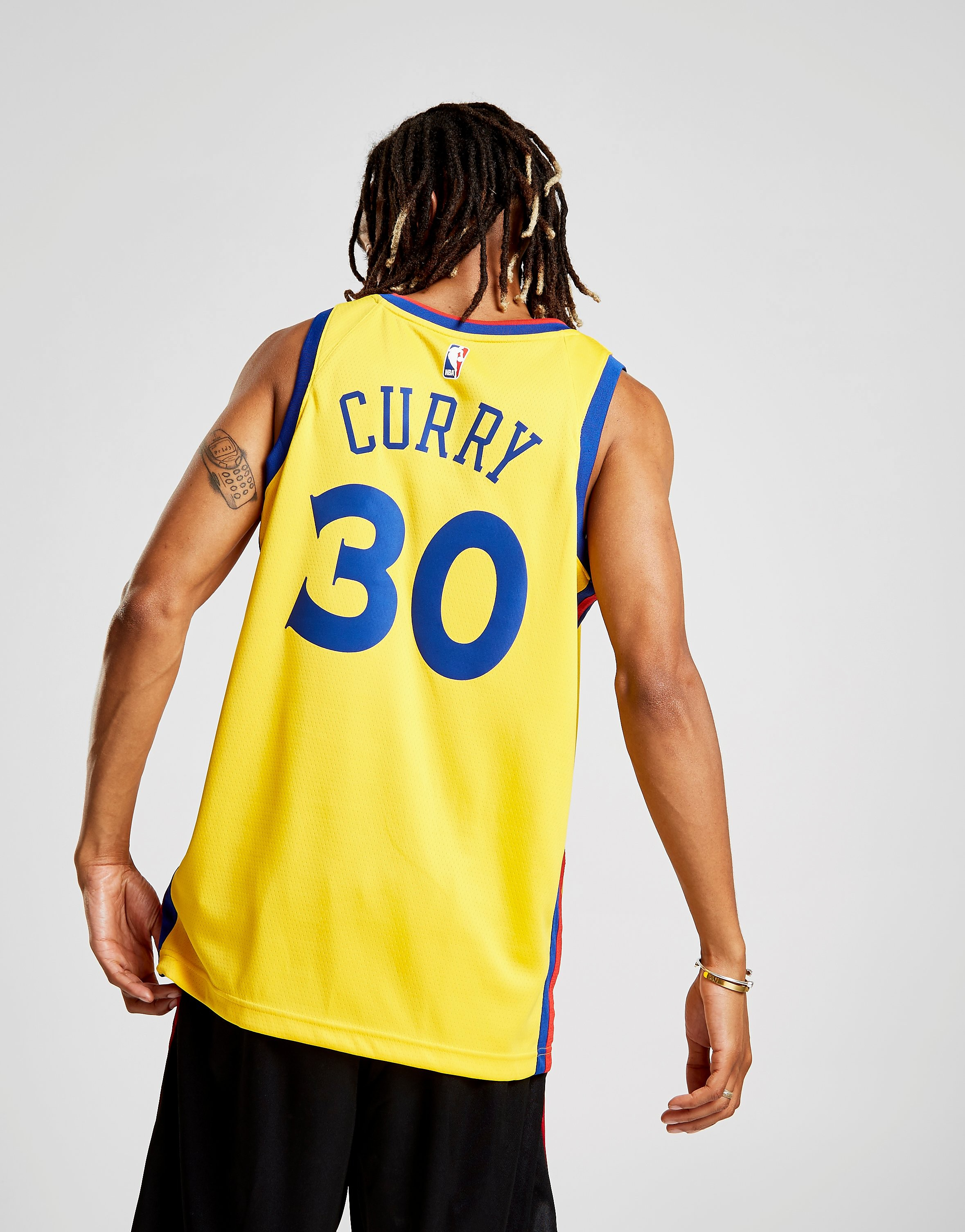 Nike NBA Curry Golden State Warriors City Jersey