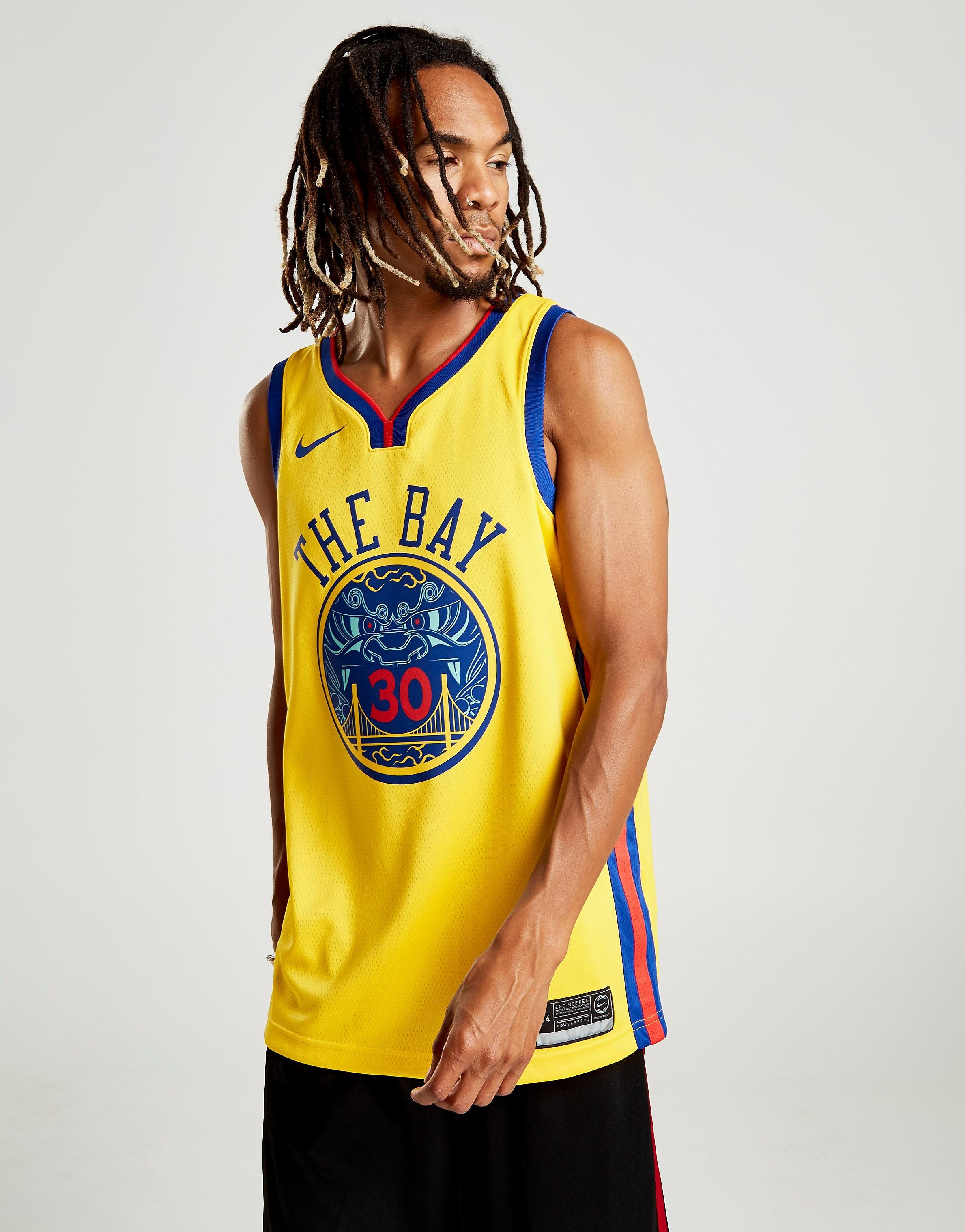 Nike NBA Curry Golden State Warriors City Jersey