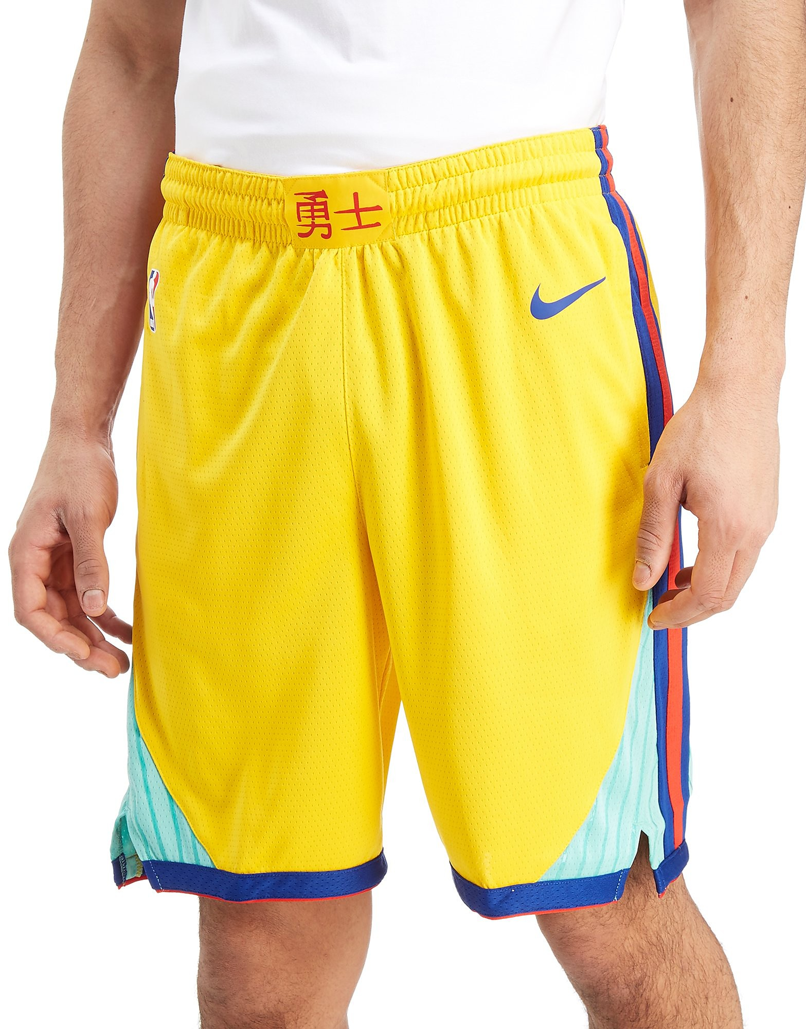 Nike NBA Golden State Warriors City Shorts