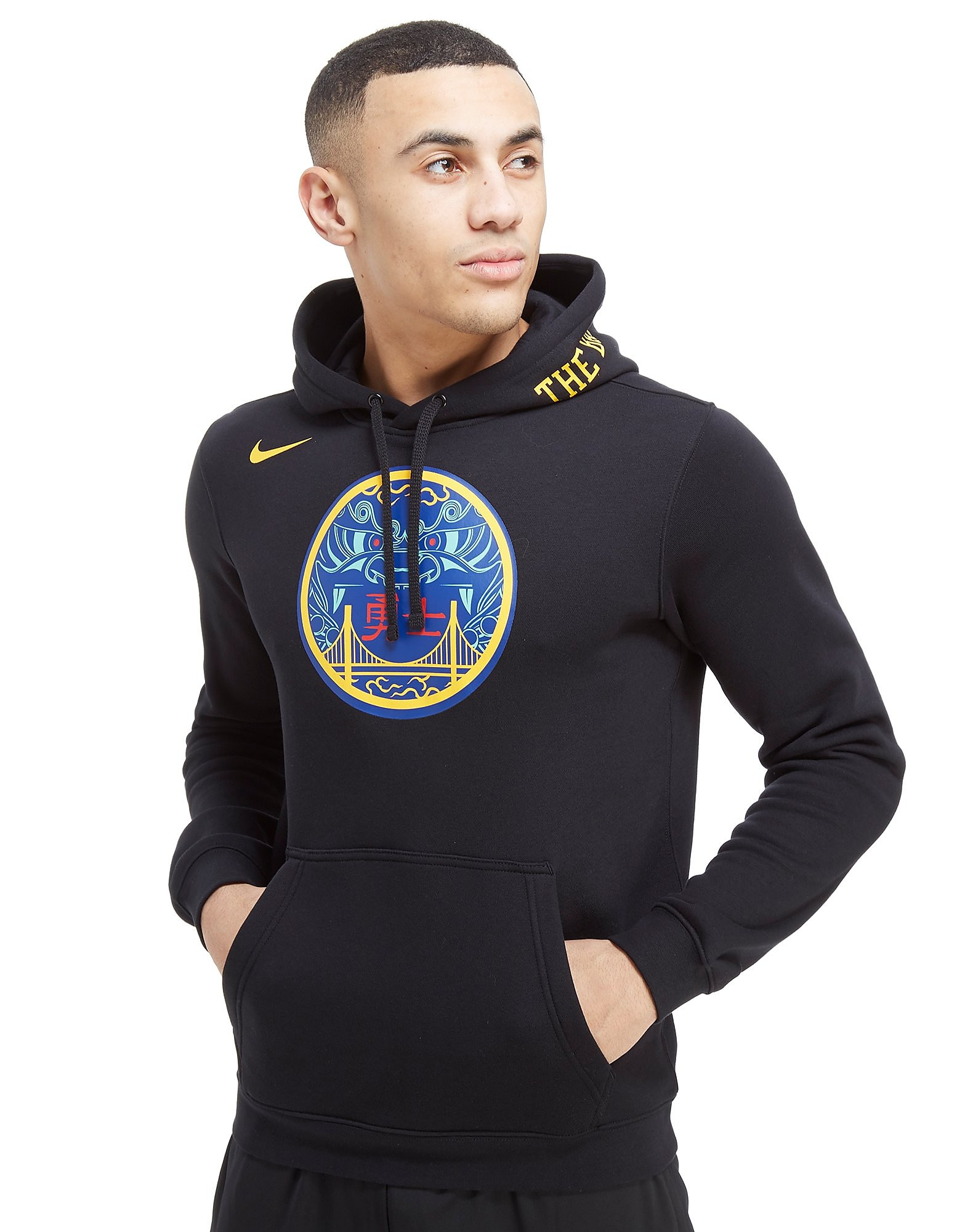 Nike NBA Golden State Warriors City Hoodie