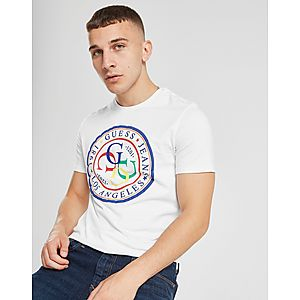 eb3d5d0d5a801 Guess Multi-Colour Circle T-Shirt ...