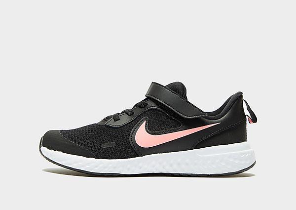 Nike Revolution 5 Kinderen - Black/White/Pink