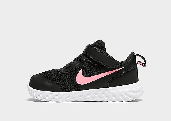 Comprar deportivas Nike Revolution 5 para bebé, Black/Pink