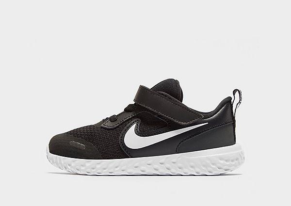 Comprar deportivas Nike Revolution 5 para bebé, Black/White