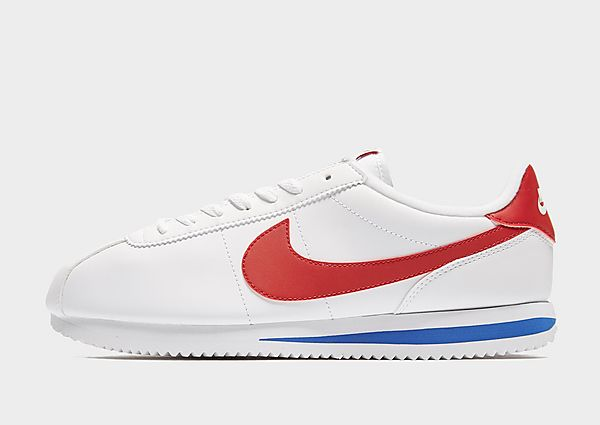 Nike Classic Cortez Leather, White/Red/Blue