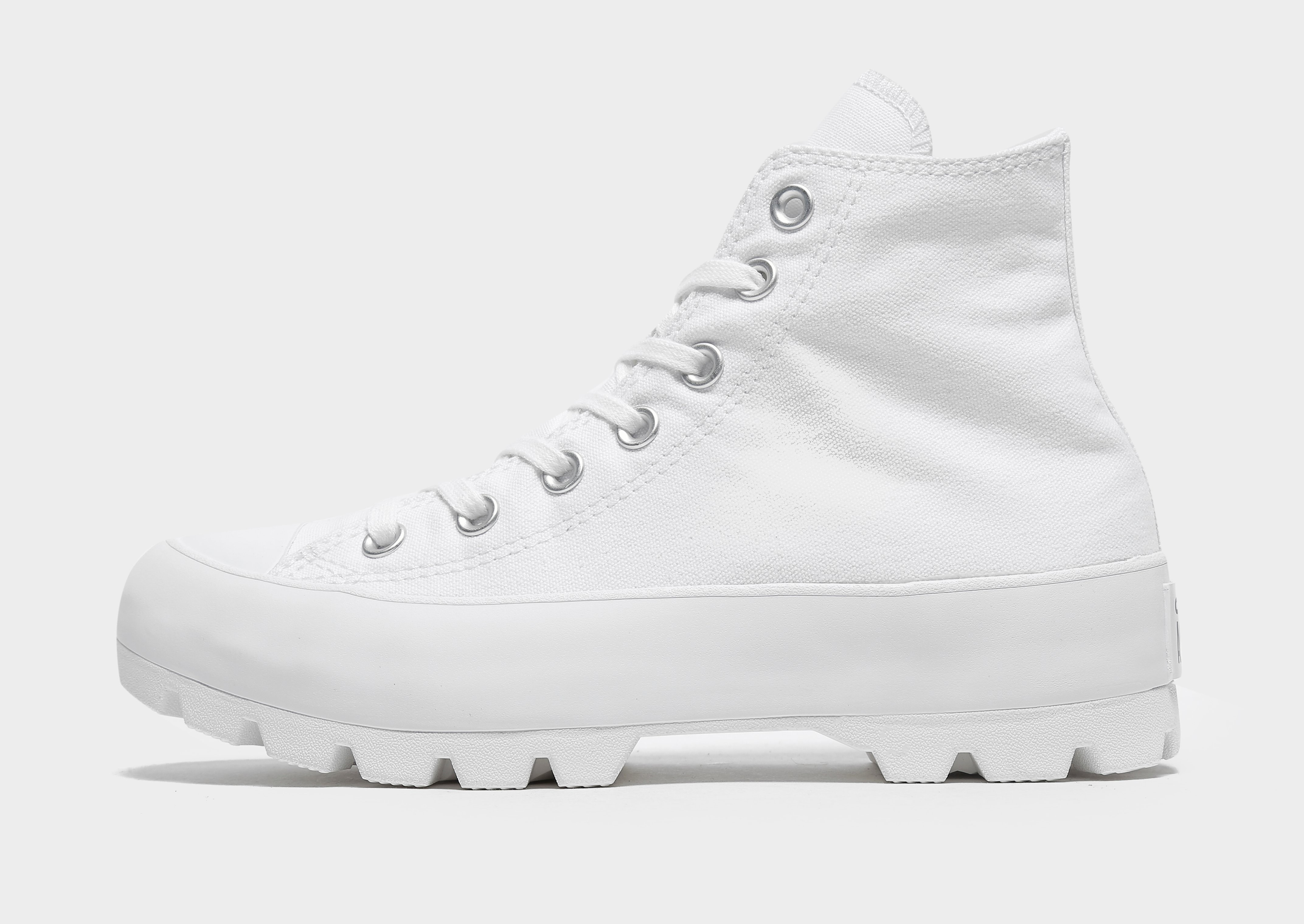 Converse Chuck Taylor All Star High Lugged para mujer, Blanco