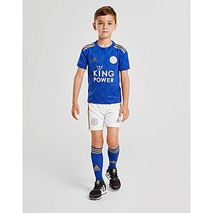 5bfd5a58256 adidas Leicester City FC 19 20 Home Kit Children ...