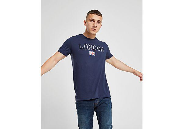 Official Team camiseta London Flag, White/Red