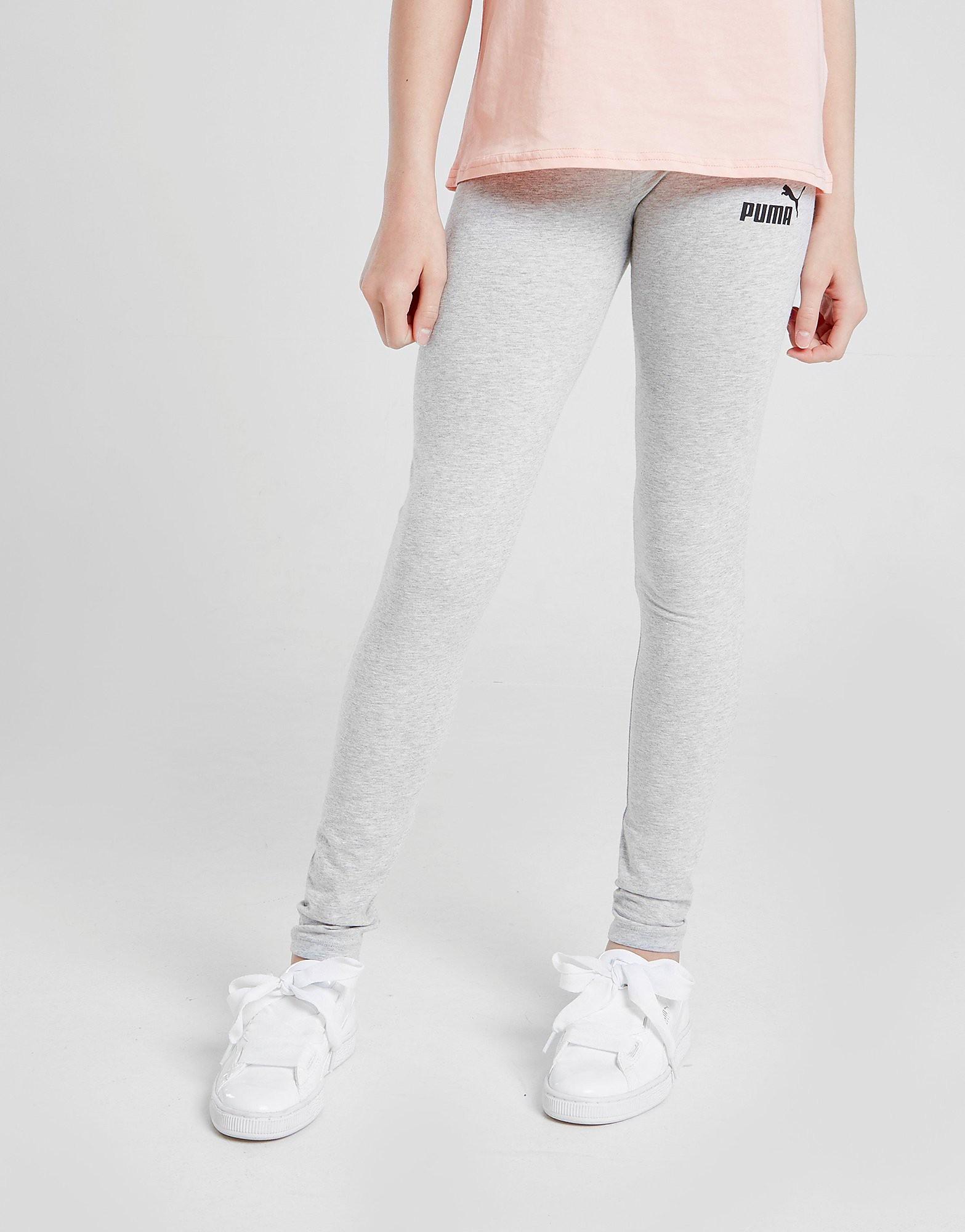 PUMA Girls' Essential Leggings Junior - Grijs - Kind