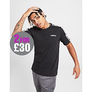finest selection dcb55 9ddfe adidas Essentials 3-Stripes T-Shirt ...