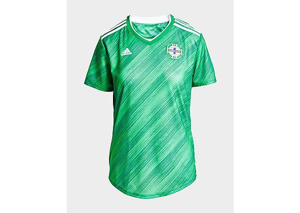 Ropa deportiva Mujer adidas camiseta Selección de Irlanda del Norte 2020 1.ª equipación para mujer, Green/White