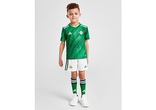 adidas conjunto selección de Irlanda del Norte 2020 1.ª equipación infantil, Green