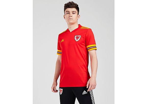 adidas camiseta selección de Gales 2020 1.ª equipación, Red/Yellow