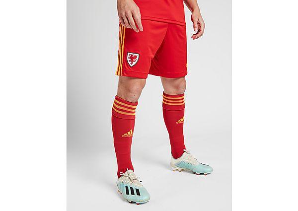 adidas pantalón corto selección de Gales 2020 1.ª equipación, Red/Yellow