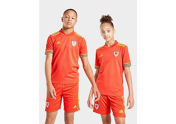 adidas camiseta selección de Gales 2020 1.ª equipación júnior, Red/Yellow