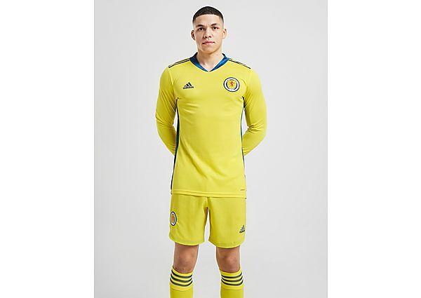 adidas pantalón de portero selección de Escocia 2020 1.ª equipación, Yellow/Blue