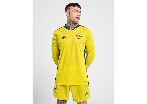 adidas pantalón de portero selección de Irlanda del Norte 2020 1.ª equipación, Yellow