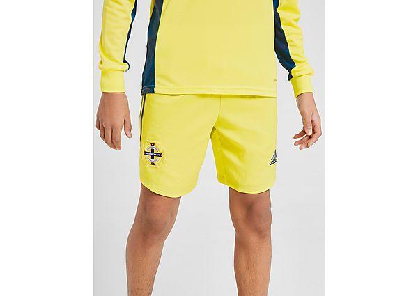 adidas pantalón de portero selección de Irlanda del Norte 2020 júnior, Yellow/Blue