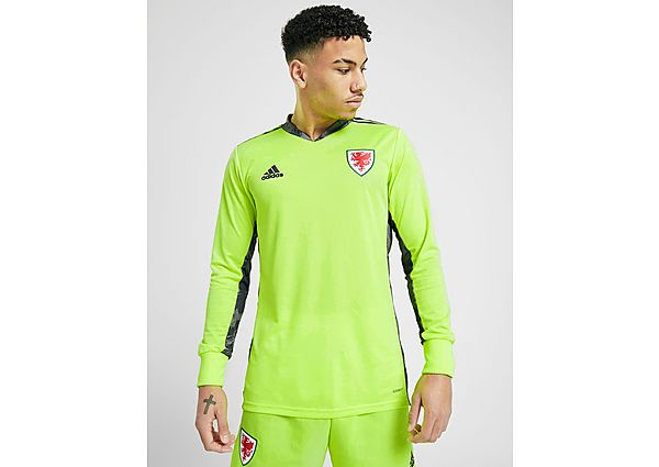 adidas camiseta de portero selección de Gales 2020 1.ª equipación, Green
