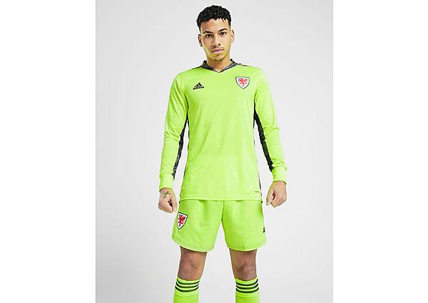 adidas pantalón corto de portero selección de Gales 2020 1.ª equipación, Green