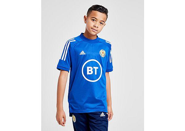 adidas camiseta de entrenamiento selección de Escocia Condivo 20 júnior, Blue