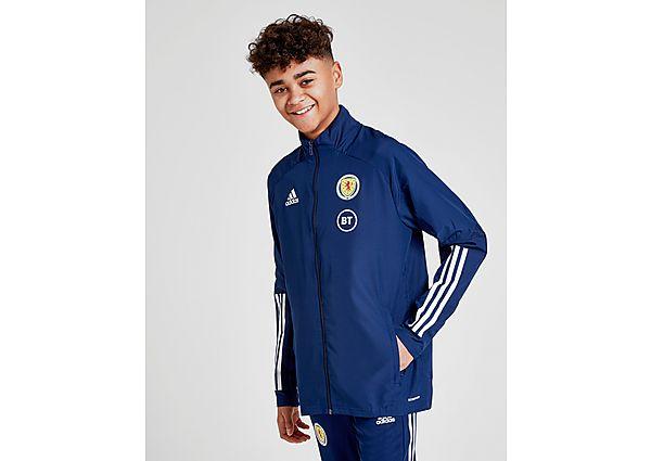 adidas chaqueta selección de Escocia Condivo 20 Performance júnior, Blue