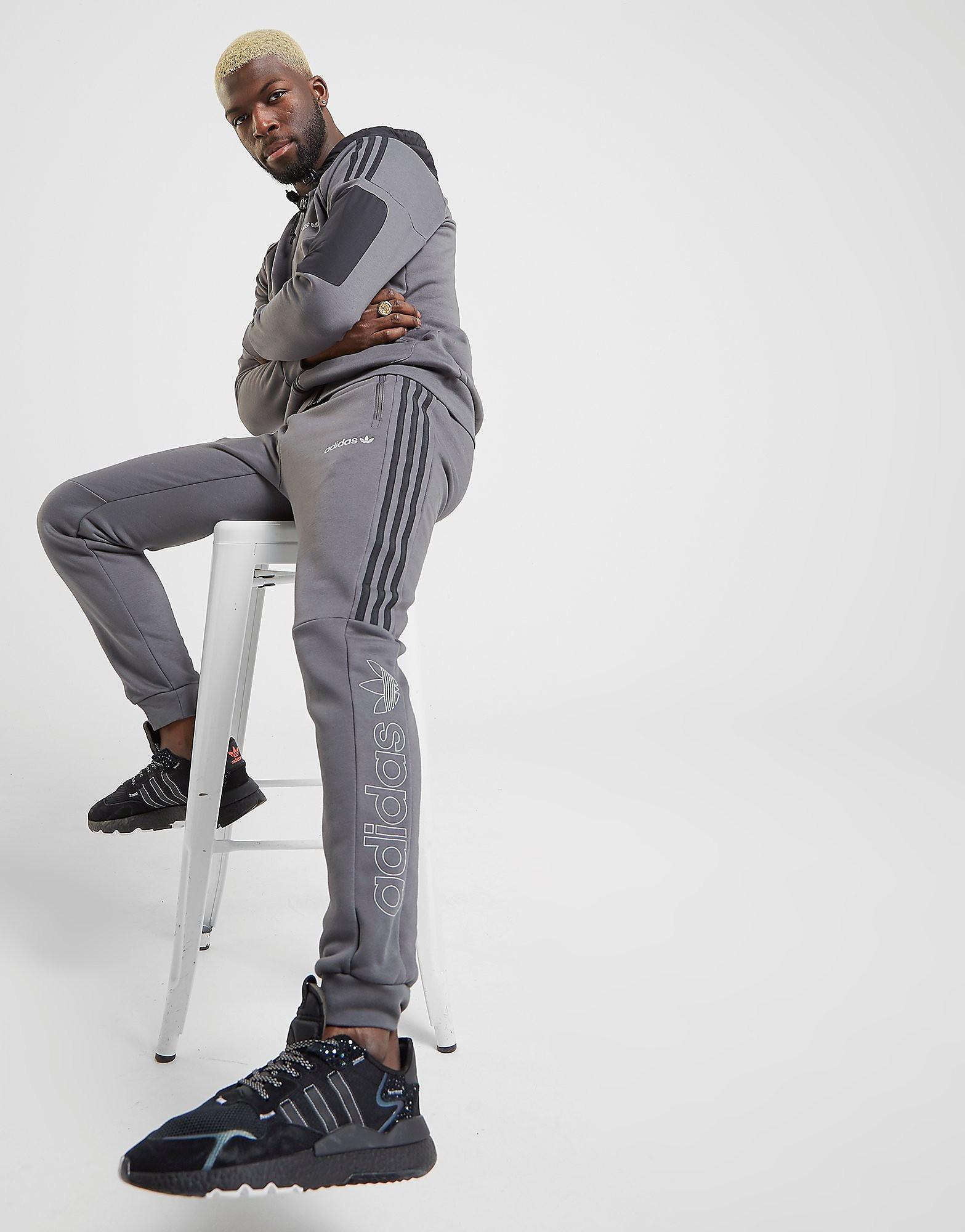adidas Originals Strun Trainingsbroek Heren  alleen bij JD Grijs Heren Gr