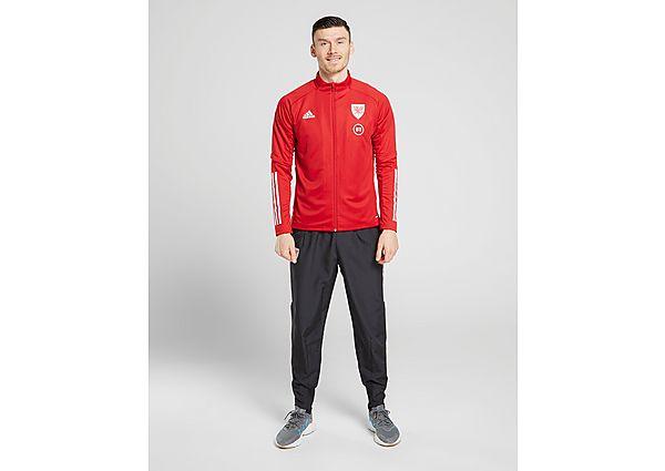 adidas Wales Condivo 20 Presentation Jacket, Red/White