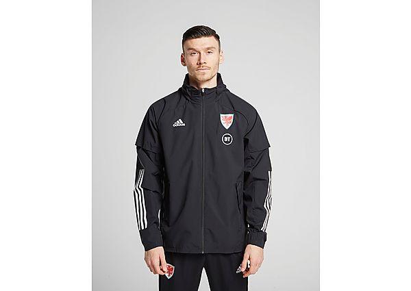 adidas chaqueta cortavientos selección de Gales Condivo 20, Black