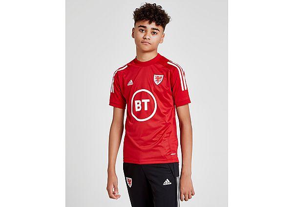 adidas camiseta entrenamiento selección de Gales Condivo 20 júnior, Red