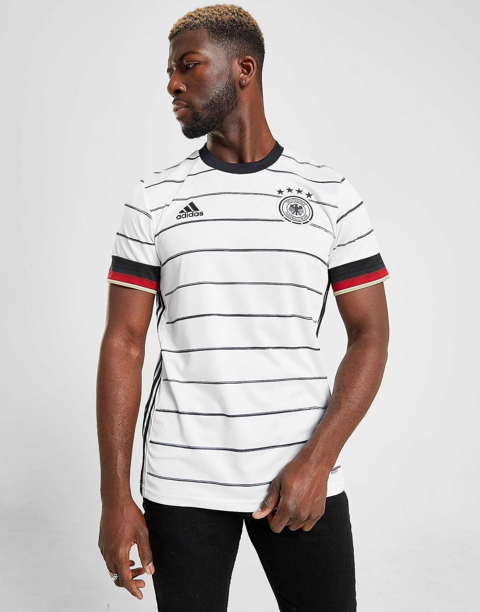 adidas Germany 2020 Home Shirt Heren PRE ORDER Wit Heren Wit