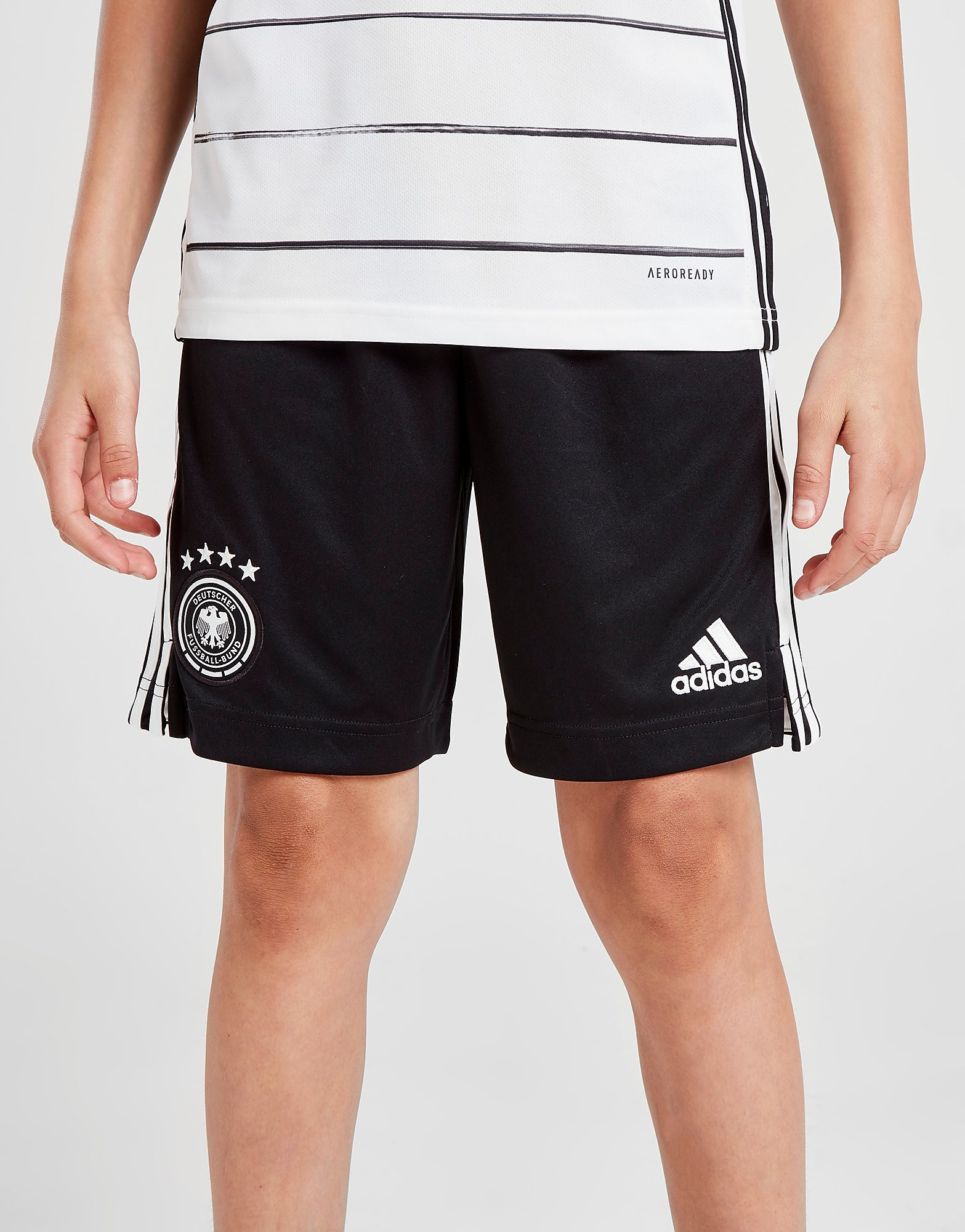 adidas Germany Home 2020 Shorts Junior Zwart Kind Zwart