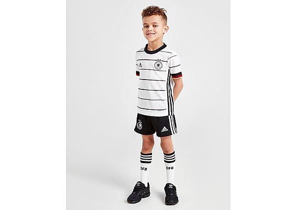 adidas conjunto selección de Alemania 2020 1.ª equipación infantil, White/Black