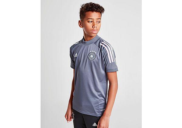 adidas camiseta de entrenamiento Germany júnior, Grey/White