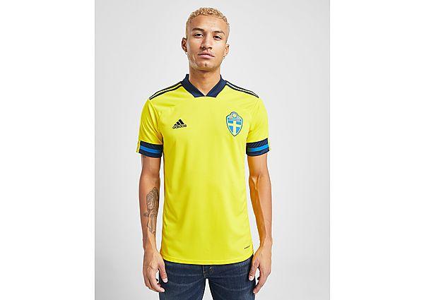 adidas camiseta selección de Suecia 2020 1.ª equipación, Yellow