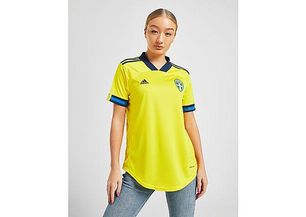 Ropa deportiva Mujer adidas camiseta selección de Suecia 2020 1.ª equipación para mujer, Yellow