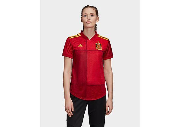 Ropa deportiva Mujer adidas camiseta Selección de España 2020 1.ª equipación para mujer, Red