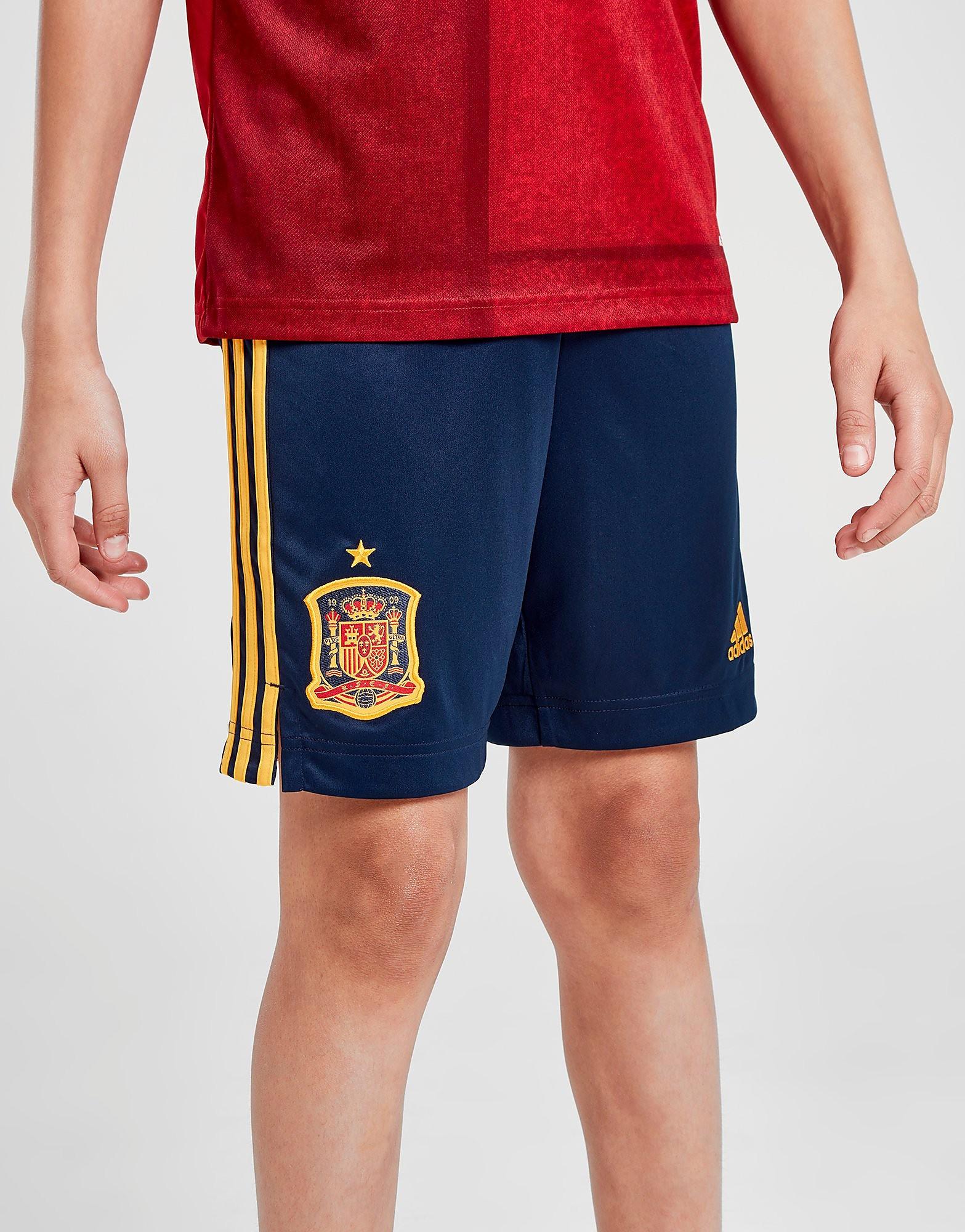 adidas Spain 2020 Home Shorts Junior Blauw Kind Blauw