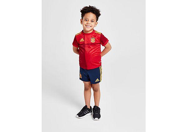 adidas equipación Selección de España 2020 1.ª equipación para bebé, Red/Navy
