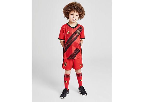 adidas conjunto selección de Bélgica 2020 1. ª equipación infantil, Red