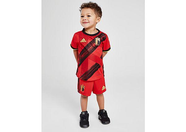 adidas conjunto selección de Bélgica 2020 1.ª equipación para bebé, Red