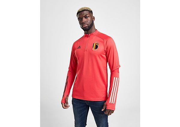 adidas sudadera de entrenamiento Belgium, Red/S