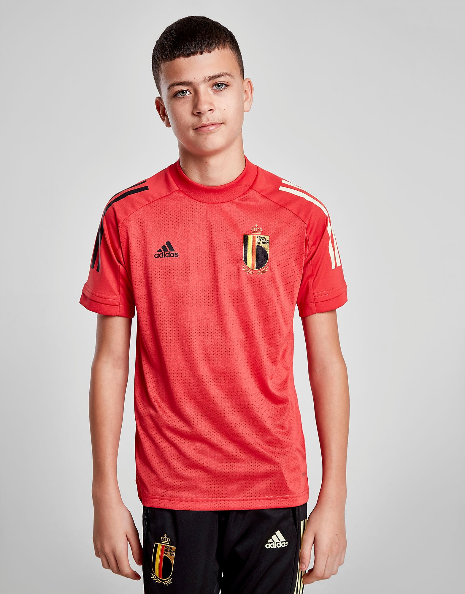adidas Belgium Training Shirt Junior Rood Kind Rood
