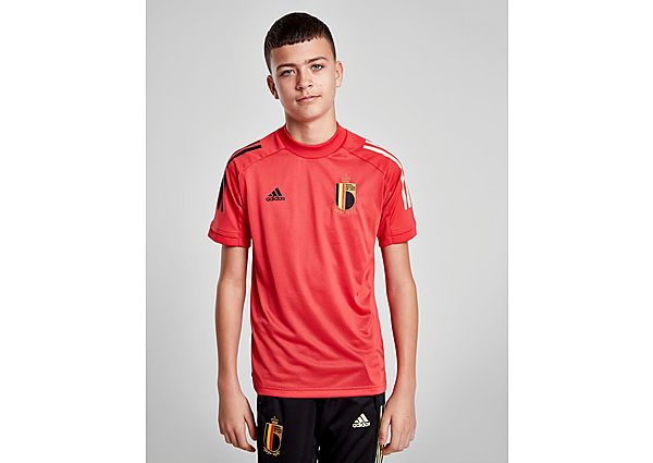 adidas camiseta selección de Bélgica Training júnior, Red