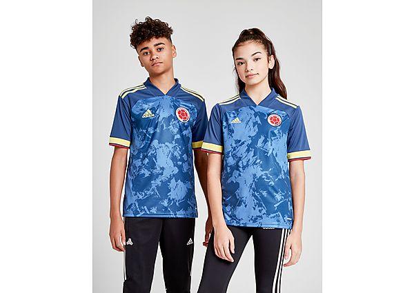 adidas camiseta selección de Colombia 2020 2.ª equipación júnior, Blue