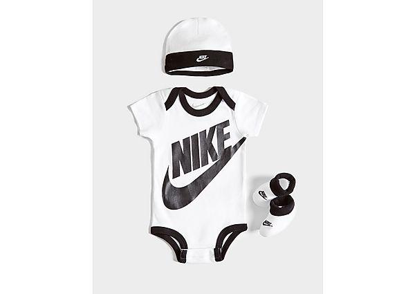 Nike 3 Piece Futura Logo Set Baby's - White/Black - Kind
