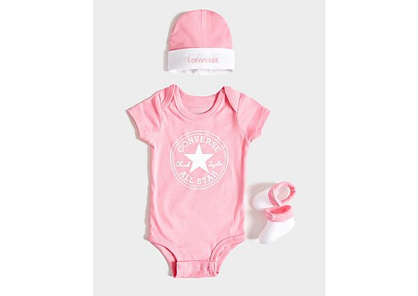 Converse 3 Piece All Star Set Baby's - Pink - Kind